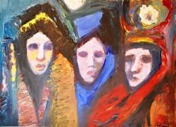 Schéner Mihály (1923-2009): Velencei karnevál