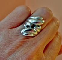 Szép régi  nagy ezüstgyűrű