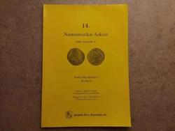 14. Numizmatikai Aukció 2003. november 8. Pannonia Terra Numizmatika Kft. /id5507/