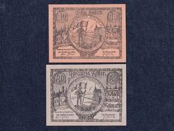 2 db osztrák szükségpénz 1920 (id7461)