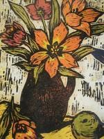 Réti Mátyás (1922 – 2002) - Tulipán