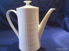 Winterling anyagában mintás tea kávé kiöntő A054
