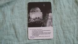 Kártyanaptár dédász  1976