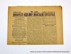 1940 szeptember 19  /  BUDAPESTI KÖZLÖNY HIVATALOS ÉRTESÍTŐJE