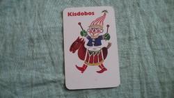 Kártyanaptár kisdobos 1978
