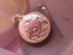 NIUE teknős 62,2 gramm 0,999 ezüst érme