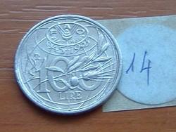 OLASZ 100 LÍRA 1945-1995 ND F.A.O. 14.