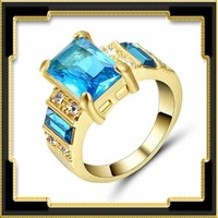 Gold Filled gyűrű GFGY-CZ09-2-17,5