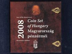 UNC magyar forgalmi sor 2008 BU - Reneszánsz emlékév Hunyadi ezüst fantáziaverettel