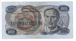 1000 schilling 1961 Ausztria Victor Kaplan Ritka 2.
