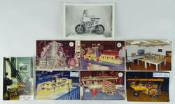 0W190 Kanadai Meccano kiállítás fotó csomag 8 db
