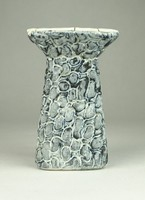 0W091 Király kerámia gyertyatartó 12.5 cm