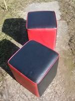 Retro puffok ülőkék 2db