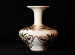 Zsolnay porcelán váza - kisváza