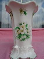 Angol fajansz váza a XIX. sz.végéről vagy a XX. sz. elejéről
