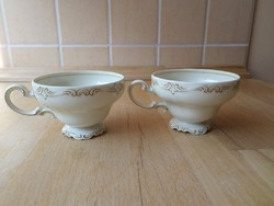 """Régi Selb Rosenthal """"Pompadour"""" porcelán csésze mokkáscsésze darabra"""