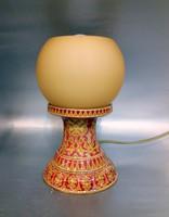 Zsolnay, Millennium kori eozinmázas asztali lámpa