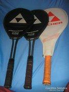 Fischer-Match Maker  szénszálas teniszütők szénszál erősítésűek egyben tokkal eladóak