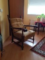 Koloniál fotel párban, nagyon jó állapotban