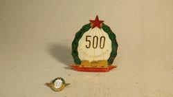 500 ezer kilométer balesetmentesen kitüntetés minivel
