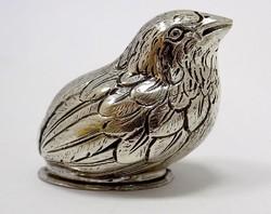Ezüst madár figura (ZAL-BI35833)