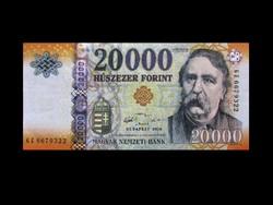 """UNC 20.000 FORINTOS - A LEGRITKÁBB """"GZ"""" SOROZATBÓL!"""