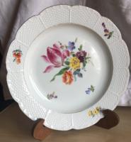 MEISSENi porcelán tányér-1860-1924.jellel-első darab