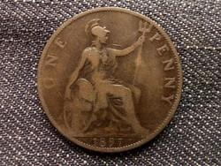 Anglia - Viktória One Penny 1897/id 7893/
