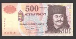 500 forint 1998. MINTA.  UNC!!