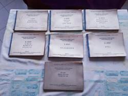 Autószerelés kisipari árjegyzék 1969.,Trabant,Wartburg,Polski,Moszkvics stb.