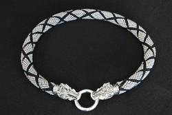 Game of Thrones sárkányfejes nyakék - egyedi kézműves termék sárkány fej GOT!