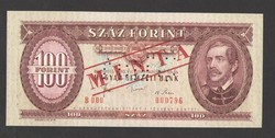 100 forint 1980. MINTA.  UNC!!  RITKA!!