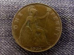 Anglia - V. György One Penny 1926/id 7982/