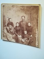 Régi fotó család