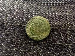 Svéd Livonia (Riga megszállása) - Krisztina királynő ezüst 1 Soldius 1654/id 8161/