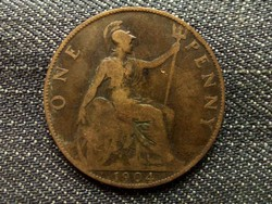 Anglia - Viktória One Penny 1904/id 7909/
