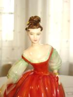 Royal Doulton, Hölgy piros ruhában (1962)