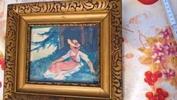 Nagyon érdekes Müller-Cassel festmény