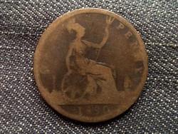 Anglia - Viktória One Penny 1890 (id7884)