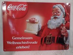 Plakát - fémplakát - Coca - Cola - 30 x 21 cm - karcmentes - újszerű