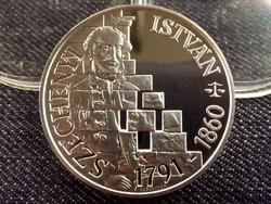 Széchenyi István ezüst 500 Forint 1991 PP/id 8121/