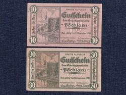 2 db osztrák szükségpénz 1920 (id7401)