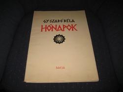 Gy Szabó Béla ,híres erdélyi,festő-grafikus 1905-1985 Kolozsvár ,Hónapok c. albuma , fametszet 30x42