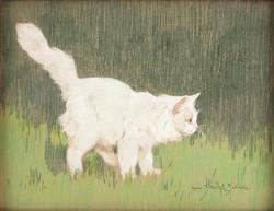 Rainerné Istvánffy Gabriella (1875 - 1964) Lopakodó cica