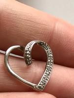 Gyönyörű Ezüst  medál brilliáns kövekkel 925-ös valódi ezüst ékszer