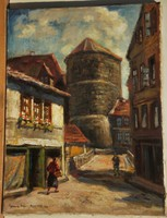 Gimes Lajos (1886-1945) : Hannover 1923 / Beginenturm
