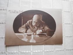 Ferenc József 1911 évi antik képeslap