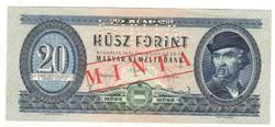 20 forint 1957 MINTA UNC