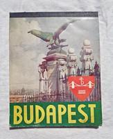 Budapest 1935 asztali naptár