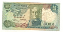 50 escudo 1972 Angola